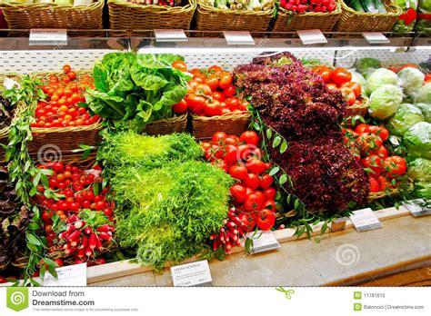 Shelf Vegetable by Fresh Vegetable Shelf Stock Photo Image 11781610