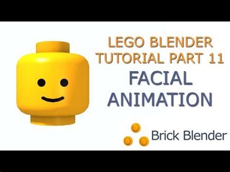 tutorial lego blender lego blender tutorial part 11 facial animation part 1