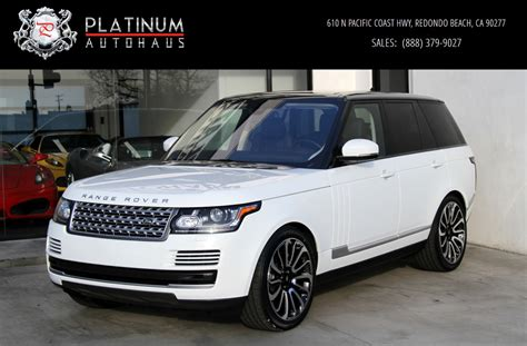 range rover land rover 2016 2016 land rover range rover hse stock 6092 for sale near