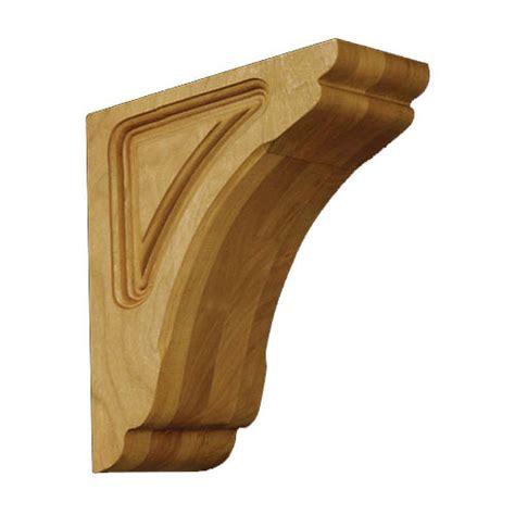 Fancy Corbels 01601010ak1 Cosmo Decorative Wood Corbel Oak