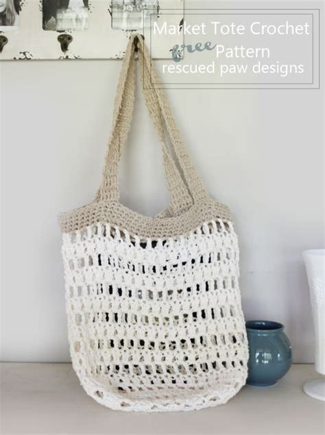 crochet pattern shopping tote pinterest the world s catalog of ideas
