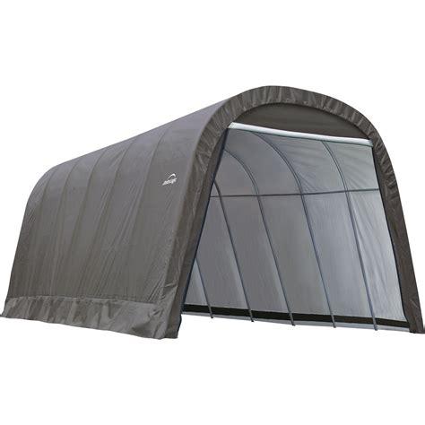 instant garage shelterlogic 12 ft w style instant garage 24ft l x