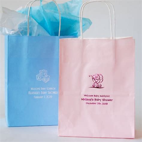 personalized gift bags baby shower gift bags