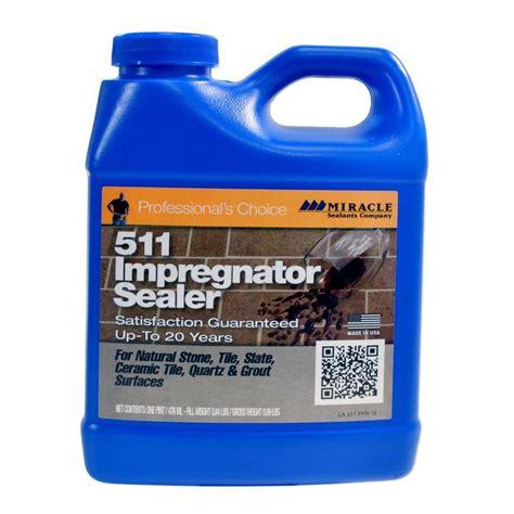miracle sealants 511 impregnator sealer for stone tile