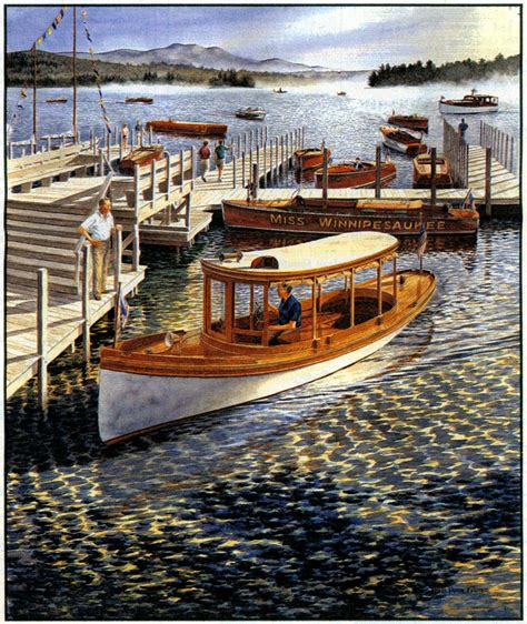 j dock boats quot early arrivals quot program cover 25th annual antique