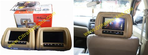 Monitor Dvd Mobil baru sale headrest monitor mobil