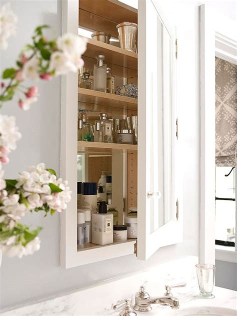 built in medicine cabinet five ways to update a bathroom centsational