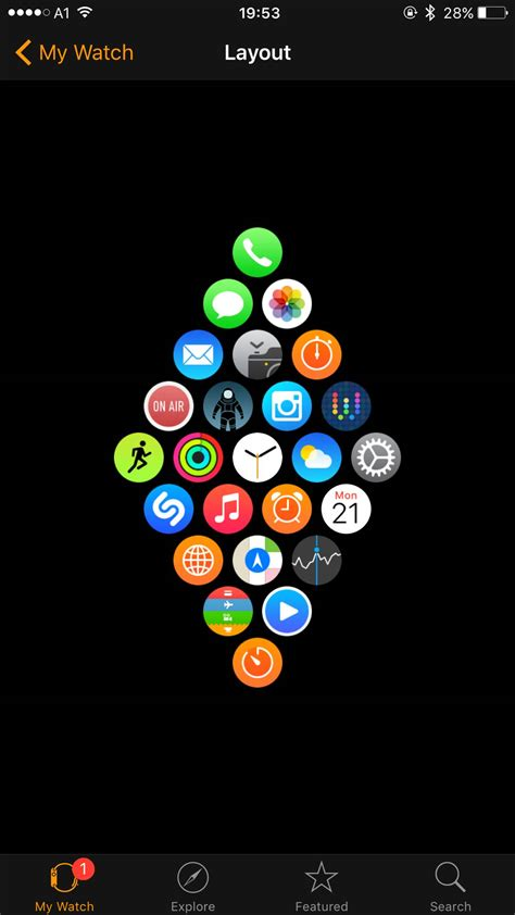 apple watch layout overview for animegeek007