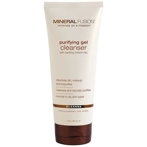 Purifying Cleanser Wardah Cosmetics mineral fusion purifying gel cleanser cleanse 7 fl oz 207 ml iherb