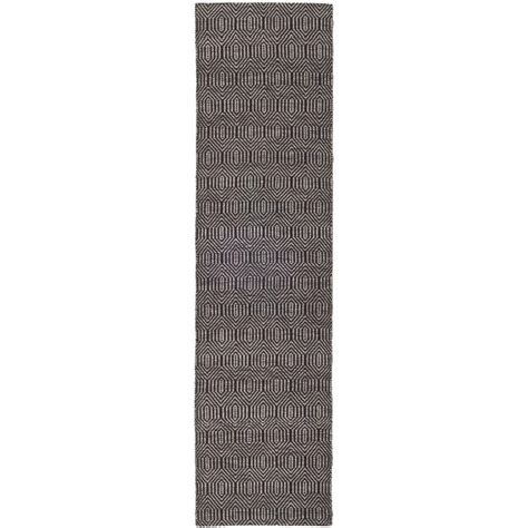 6 foot runner rug safavieh southton black 2 ft x 6 ft rug runner sha243b 26 the home depot