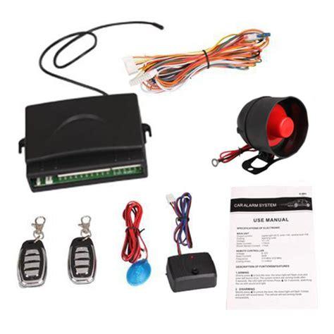 Alarm Motor Alarm Motor 2016 new universal car alarm security system siren keyless