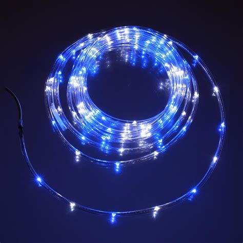 awning string lights blue white mini rope light 16 u c products
