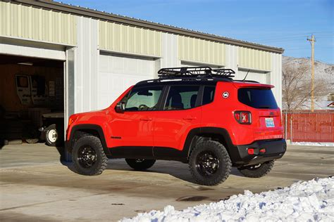 jeep renegade trailhawk lifted jeep renegade trailhawk daystar 1 5 quot lift 225 75r16