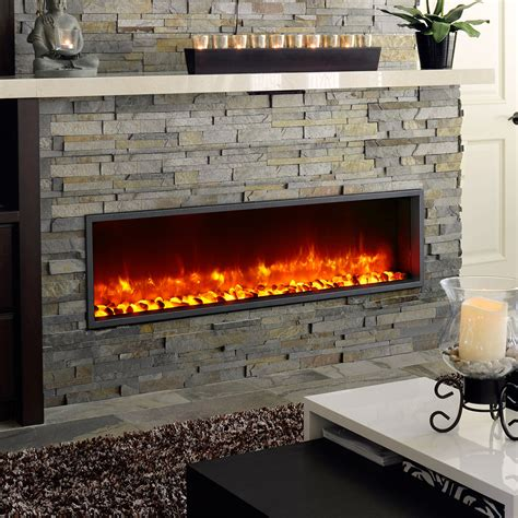 Built In Electric Fireplace Dynasty 55 In Built In Electric Fireplace Dy Bt55