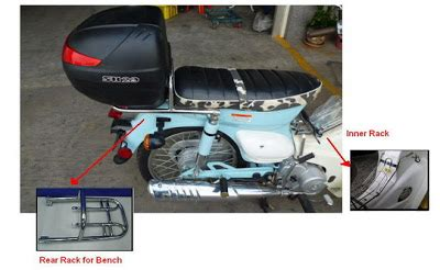 sym symba bench seat team symba now you can have the symba bench seat and a rear rack