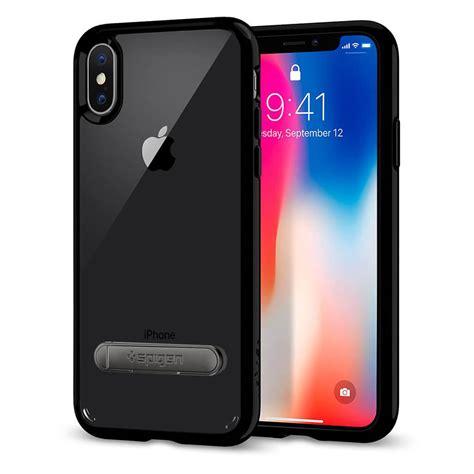 spigen 174 ultra hybrid s 057cs22134 iphone xs x jet black spaceboy