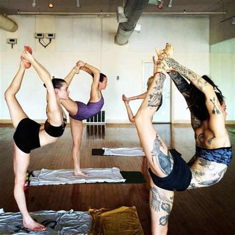 tattoo hot yoga weareyoga gianna purcell and friends the tattooed yogi