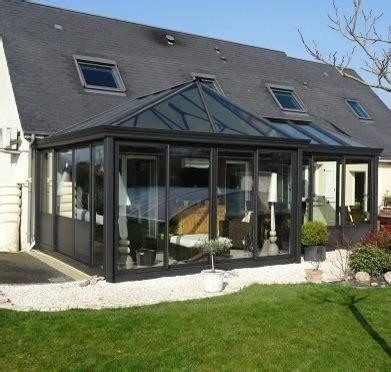 veranda contemporaine extension salon s 233 jour