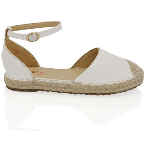 casual sandals c womens espadrilles ankle strap flat sandals ladies summer