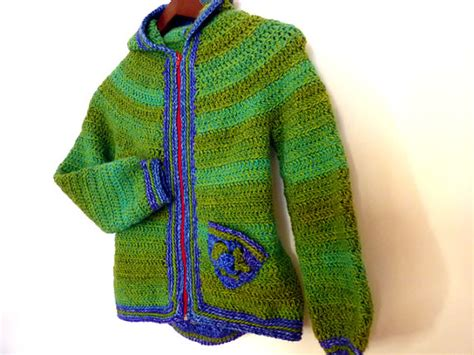 etsy jacket pattern armel crochet pattern pdf hooded jacket for boys or