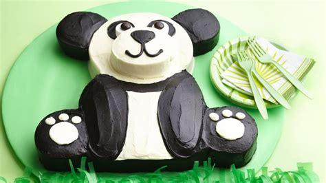 Decorating Eggs panda bear cake recipe bettycrocker com