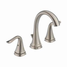 Who Owns Delta Faucets by Celice Two Handle Widespread Lavatory Faucet
