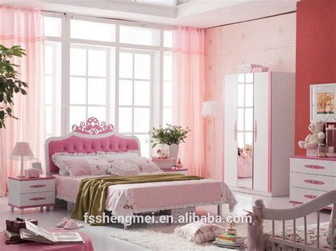 girly bedroom sets pink colour princess style girly children bedroom