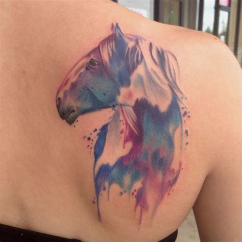 watercolor tattoos in houston watercolor by mike ashworth tattoos by