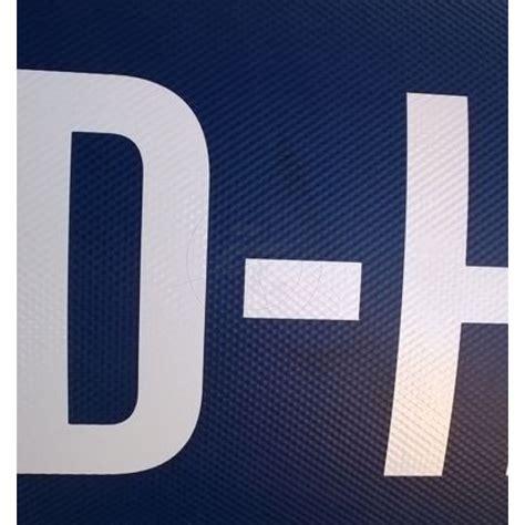 Kennzeichen Buchstaben Aufkleber by Aufkleber Amtliches Bootskennzeichen 2er Set