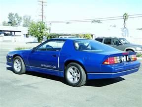 1990 chevrolet camaro iroc z coupe 96400