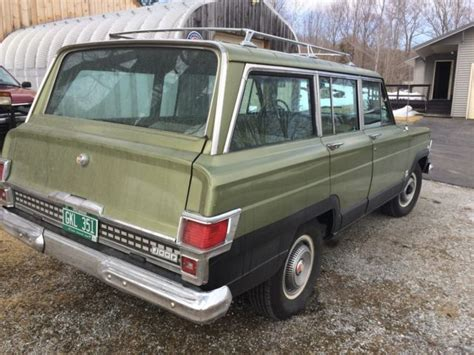 1970 jeep wagoneer for sale jeep 1970 wagoneer low miles 32300 mi all original