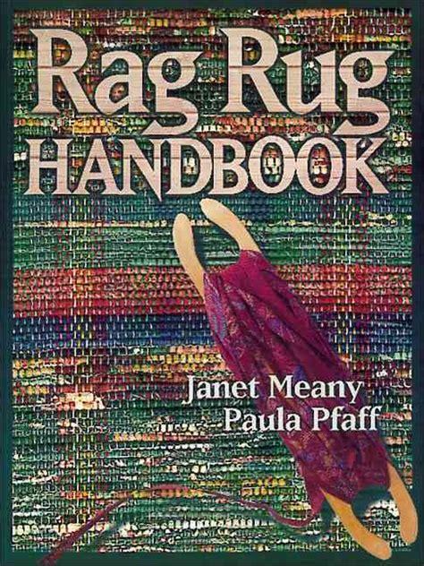 rag rug books rag rug handbook great northern weaving
