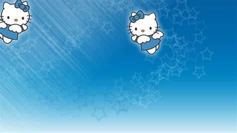 hello kitty wallpaper color blue hello kitty background wallpaper