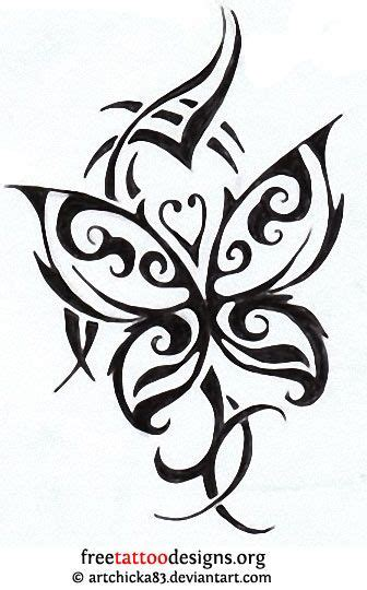 butterfly heart tattoo designs tribal butterfly design tattoos
