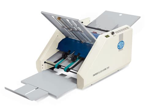Types Of Paper Shredders by Cyklos Cfm700 Paper Folding Machine