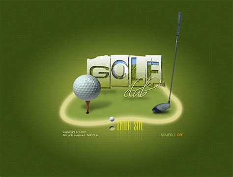 golf club flash template best website templates