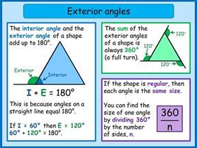 Sum Of Interior And Exterior Angles Of A Polygon Help By Topic Polygons Mnm For Students