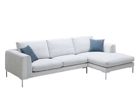 white fabric sofa white fabric sectional sofa nj blanca fabric