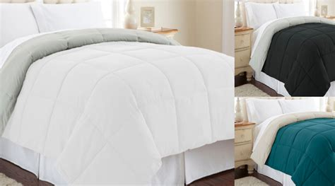 All Seasons Down Alternative Reversible Comforters Only