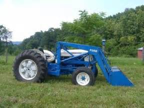1962 ford 4000 industrial tractor