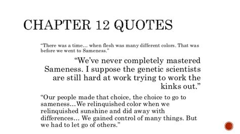 the quotes with page numbers quotes and page numbers from the giver