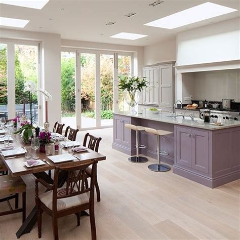 Kitchen Diner Flooring Ideas Kitchens Grey And Floors On