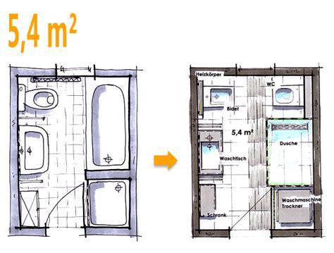 badezimmer 3 m2 badplanung beispiel 5 4 qm neue w 252 nsche f 252 r das neue bad