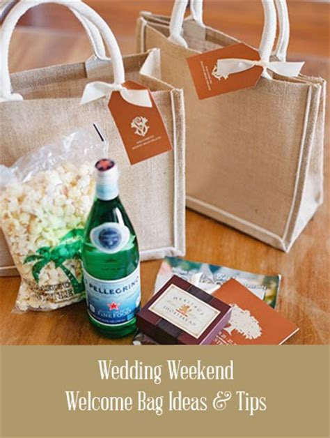 Wedding Welcome Bags by Wedding Welcome Bag Ideas
