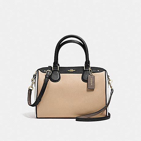 Coach Mini Beechwood coach f57498 mini satchel in geometric