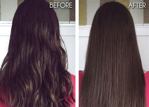 rebond hairstyles pictures rebond hair before and after www pixshark com images