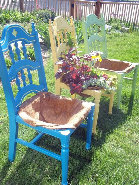 planters chair 1000 ideas about chair planter on planters