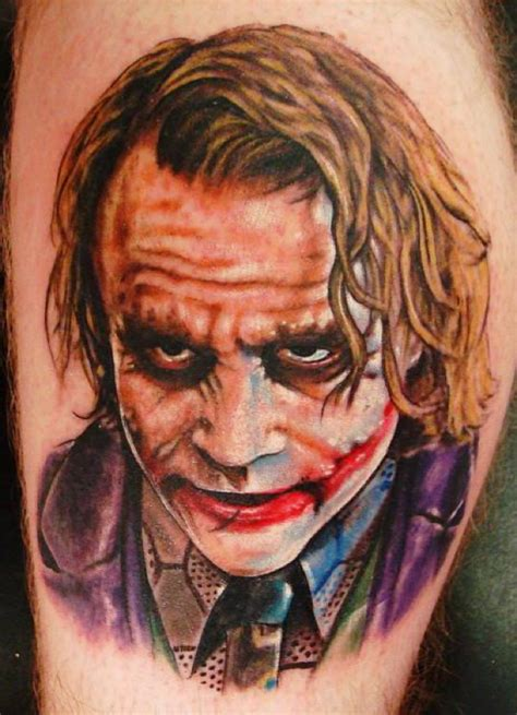 heath ledger joker tattoo designs these jaw dropping ideas will your mind