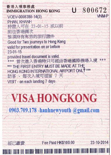 Sponsor Letter For Hong Kong Visa d盻議h v盻 l 224 m visa hongkong cho ng豌盻拱 vi盻 nam