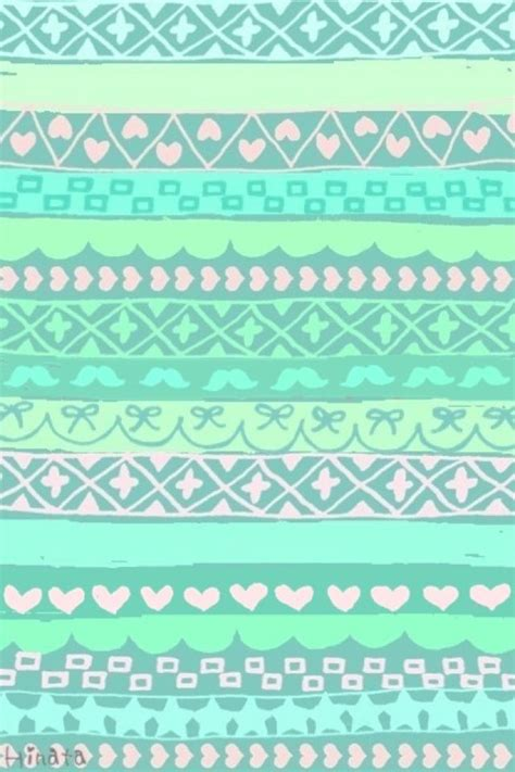 aztec pattern wallpaper for iphone aztec aqua iphone stuff pinterest green pattern